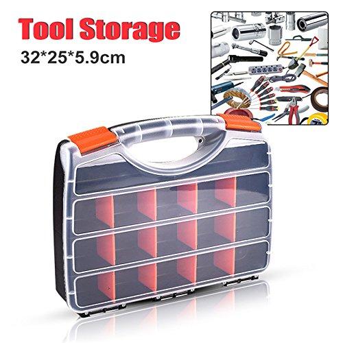 fivechoice tragbar Hardware-Tool Teile Schraube Aufbewahrungsbox b-320