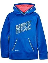 Nike Girl's KO réfléchissant sur le pull à capuche