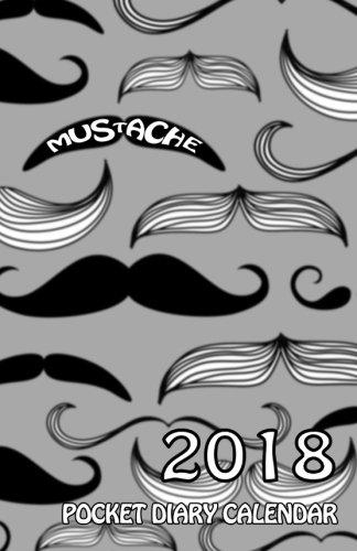Moustache Pocket Diary Calendar
