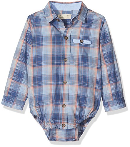 Zippy ZNB15_410_2, Camisa Body Para Bebé, Azul (True Navy), 62 (talla del fabricante: 1/3M)