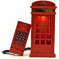 Gearmax® Retro cabina di telefono Touch regolabile 3-mode controllo Scrivania