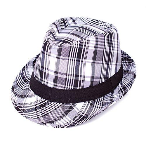 Chapeau en été sur le tourisme/Aucun lecteur/Masculine individuelle petit chapeau/Haut haut rouleau chapeau B