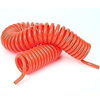 Generic NV _ 1001003046_ YC-UK2C Redcom manguera de aire tubo tubo de 9m Flexible de aire línea de aire Ine un Compresor De Aire OL Co aire herramienta espiral–1pc rojo 9m Flex