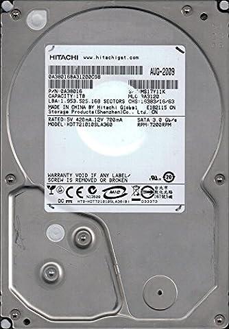 Hitachi HDT721010SLA360P/N: 0A38016MLC: BA31201TB