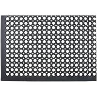 William Armes 2481010 - Alfombra de goma, 150 x 90 cm, color negro