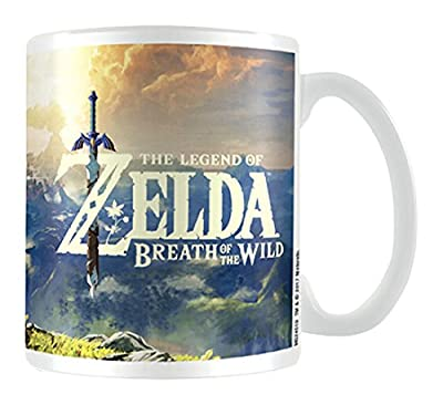 The Legend of Zelda?: Breath of the Wild Coucher de soleil Mug en céramique, multicolore