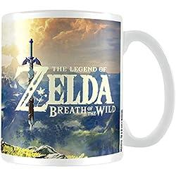 La Leyenda de Zelda: aliento de la Wild Sunset taza de cerámica, multicolor
