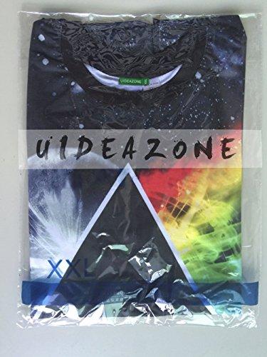 uideazone Unisex 3D-Druck Lustige Herren Kurzarm T-Shirts Bunt UK S-L 21