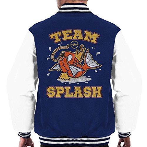 Pokemon Team Splash Magikarp Men's Varsity Jacket
