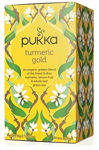 Pukka Turmeric Gold Tea - 20 Teabags (Pack of 1)