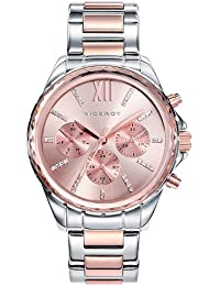Viceroy 40930-73 - Reloj Cuarzo para Mujer, Correa de acero inoxidable, color