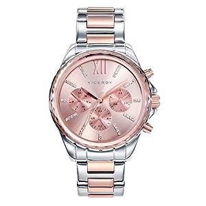 Viceroy 40930-73 – Reloj Cuarzo para Mujer, Correa de acero inoxidable,
