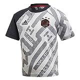 adidas - Maglietta a Maniche Corte da Ragazzo Disney Star Wars 1, Ragazzo, DI0203, White/Black/Vivid Red, 116