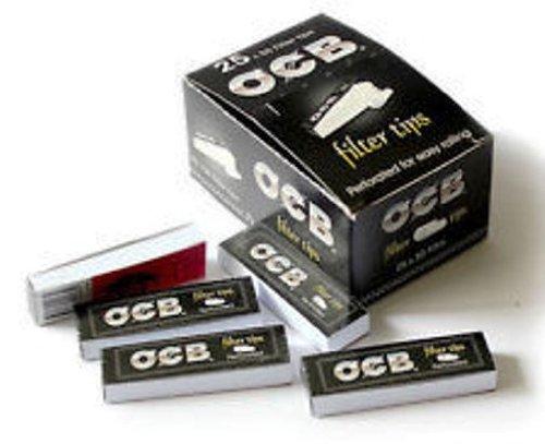OCB Filtres en Carton perforés - 10 carnets