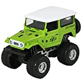 #6: DealBindaas Die Cast Metal 1:32 Jeep | Pull Back Action | Dinky Car | Toys | Children Gift Collection | Green