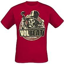 Volbeat Baron Samedi Camiseta Burdeos