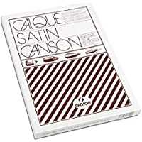 Canson - Paquete de papel de calco satinado (100 hojas, A4, 21 x 29,7 cm, 90/95 g)