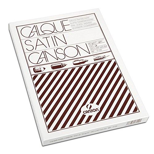 Canson Zeichenpapier Bogen/17119 A4 90/95g/qm Inh.100 -
