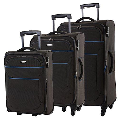 travelite Derby Reiseset Kofferset 3-tlg 04 anthrazit