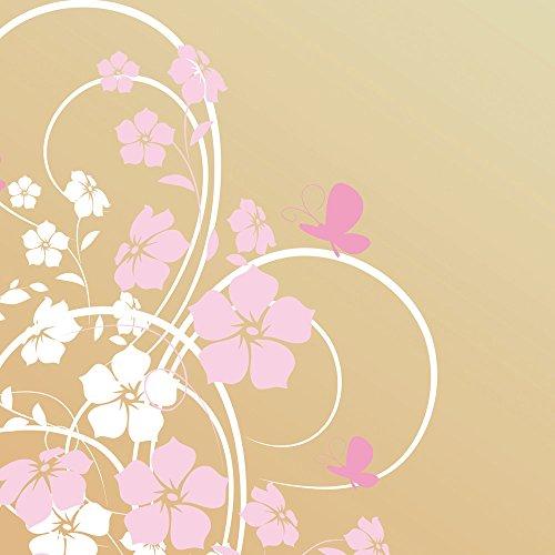 Apple iPhone 5s Housse étui coque protection Fleur Fleur Papillon Sac Downflip noir