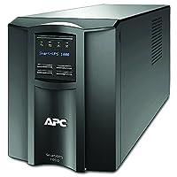 المزود الذكي للطاقة اللامنقطعة من ايه بي سي 1000 فولت أمبير، شاشة ال سي دي، 230 فولت، أسود، SMT1000I