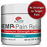 Best Joint Pain Reliefs - Sensi Natural Hemp Oil Cream 400mg | Relieves Review