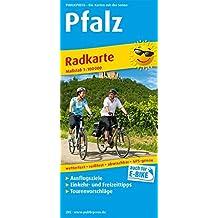 Pfalz: Radwanderkarte mit Ausflugszielen, Einkehr- & Freizeittipps, wetterfest, reißfest, abwischbar, GPS-genau. 1:100000 (Radkarte/RK)