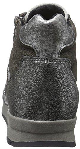 Marc Shoes Damen Raven High-Top Grau (Steel-combi 00149)