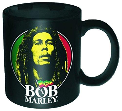 empireposter - Marley, Bob - Logo Face - Größe (cm), ca. Ø8,5 H9,5 - Lizenz Tassen, NEU - Bob Marley Boxed Mug: Logo Face - Beschreibung: - Keramik Tasse, bedruckt, Fassungsvermögen 320 ml, offiziell lizenziert, spülmaschinen- und mikrowellenfest -