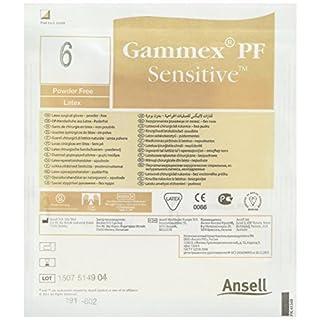 GAMMEX aj353192PF Sensitive Latex Handschuh Gr. 6.0(25Stück)