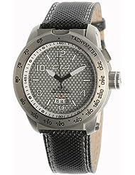 Carbon 14 Herren-Armbanduhr Analog Edelstahl schwarz E3.3