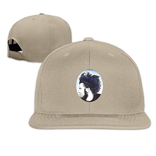 mensuk-artist-espn-deportes-logo-adult-nylon-adjustable-mesh-hat-plain-hat-black-one-size-fits-most-