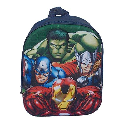 Rucksack Rucksack Schule Kindergarten 3d Marvel avengers- Schablone Relief–Aktendeckel Rucksack Iron Man, Captain America