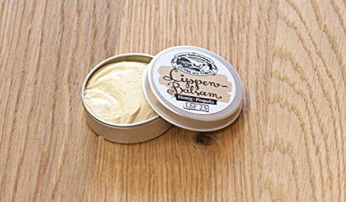 Honig-Propolis Lippenbalsam mit LSF 25 - 10ml Handgemacht in Österreich