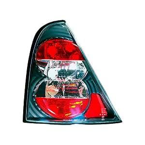 AutoStyle 3700-33298 Feu arrière pour Renault Clio II 8/98-01 Noir