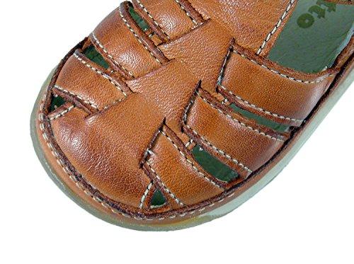 Naturino fALCOTTO 163 sandales unisexe-bébé Marron - Braun (Ocra 9113)