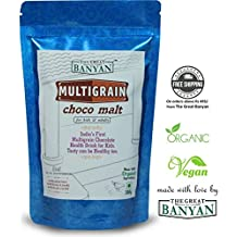 Multigrain Choco Malt 100% Natural Homemade & Organic Health Drink For Kids & Adults- 300g