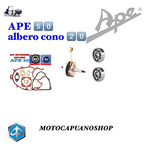 Kurbelwelle Dichtungen Kugellager Öldichtung Ape 50P TM FL Mix