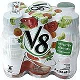 V8'Tomatensaft/Gemüsesaft', 6 x 250ml Flaschen
