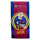 "FC Barcelona Duschtuch ""MESSI"" 70x140cm Strandtuch Badetuch fcb9007"