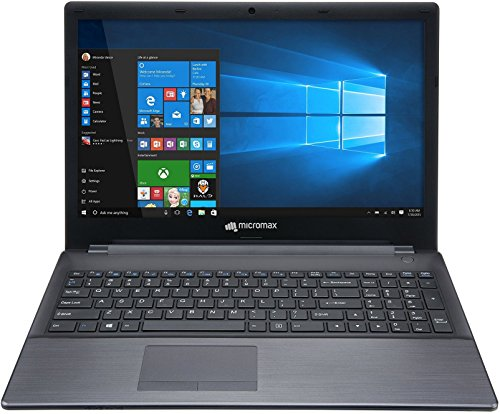 Micromax Alpha LI351568W 15.6-inch Laptop (5th Gen Core i3-5005U/6GB/500GB/Windows 10/Integrated Graphics), Grey