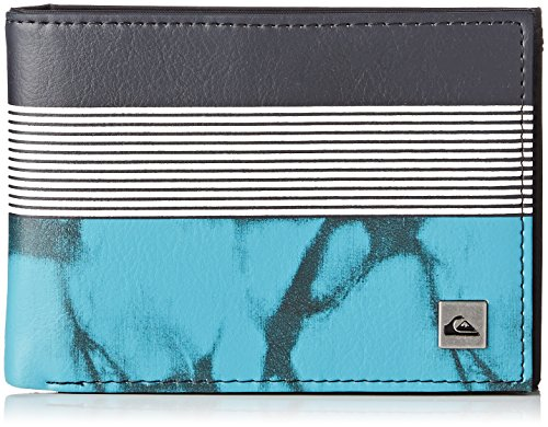 Quiksilver Freshness II Porta Carte di Credito, 13 cm, Bp Highdye Scuba Blue