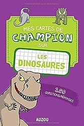 Mes cartes de champion - Les dinosaures