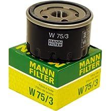 Mann+Hummel W753 Filtro dell'olio
