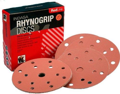 Rhynogrip Redline P1500Schleifscheiben-Die Nylon grip Unterstützung System, 150mm, Loch (Staubabsaugung-system)