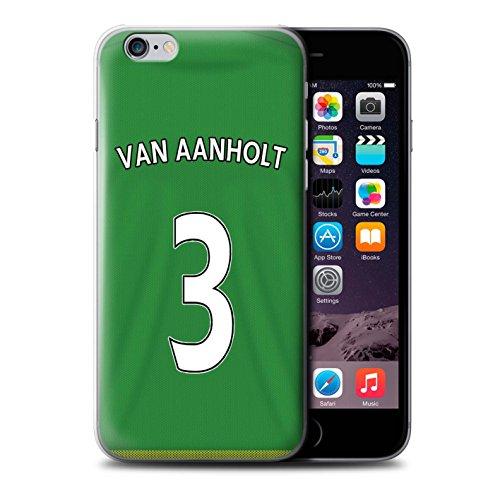 Officiel Sunderland AFC Coque / Etui pour Apple iPhone 6+/Plus 5.5 / Pack 24pcs Design / SAFC Maillot Extérieur 15/16 Collection Van Aanholt