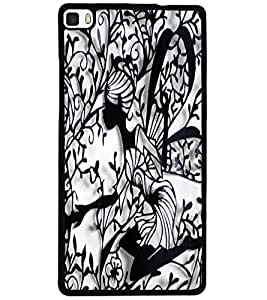 ColourCraft Creative Image Design Back Case Cover for HUAWEI P8