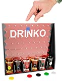 DRINKO Shot Glass Drinking Game by Fairly Odd Novelties