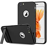 """JETech iPhone 6 Plus 6s Plus Hülle 5.5"""" Tasche Schutzhülle Slim-Fit Case mit Selbst Ständer für Apple iPhone 6 Plus/6s Plus 5.5 (Schwarz)"""
