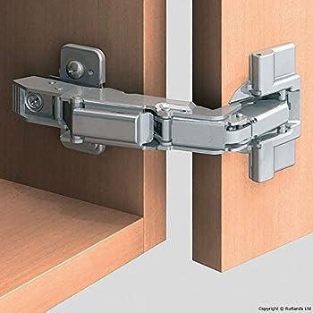 blum charniere de meuble pour ouverture a 170 degres pour porte en applique recouvrement total. Black Bedroom Furniture Sets. Home Design Ideas